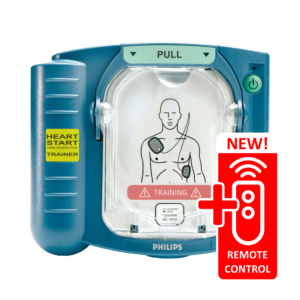 Philips Heartstart HS1 training unit with remote control