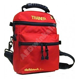 Defibtech softcase for AED training unit (red)