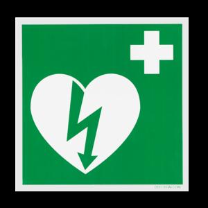 DefiSign AED Ilcor sign