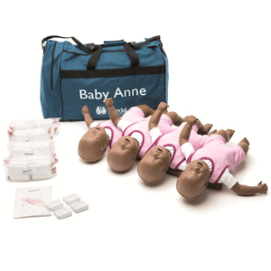 Laerdal Baby Anne (pack of 4) with dark skin
