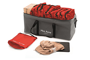 Laerdal Mini Anne Plus Uni Color skin set of 10