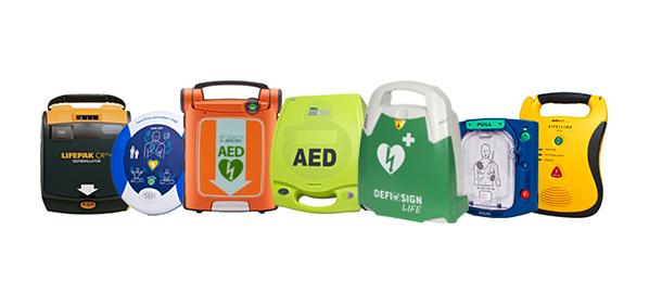 AED product range DefiSign Heartstart Heartsine Zoll